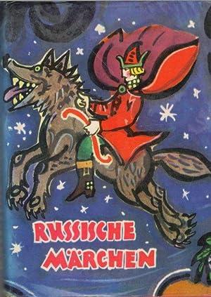 Russische Märchen 33 Russische Volksmärchen aus dem rusischen von Hilde Angarowa ...