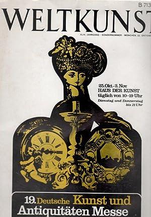 Weltkunst - Aktuelle Zeitschrift für Kunst und: Breuer, C.A.