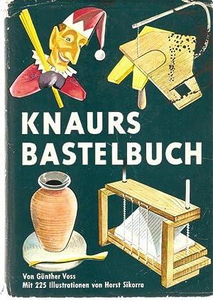 Knaurs Bastelbuch von Werkstoff und Werkzeug des Bastlers , Aus Holz gemacht , Ornament und ...