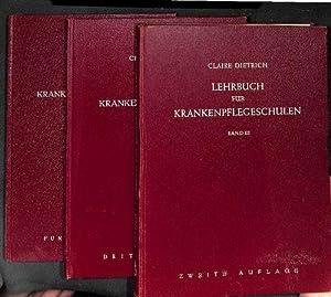 Lehrbuch für Krankenpflegeschulen, Band 1 - Band 3 für Heilberufe ,Grundlagen der ...