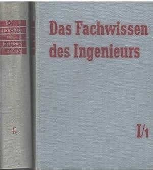 Fachwissen des Ingenieurs Grundlagen des Konstruierens in zwei bänden Band 1/1 und Band ...