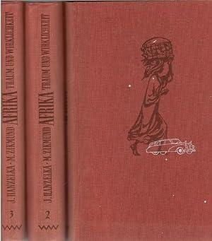 3 Bände komplett Afrika, Traum und Wirklichkeit eine Reisedokumentation von Jirí ...
