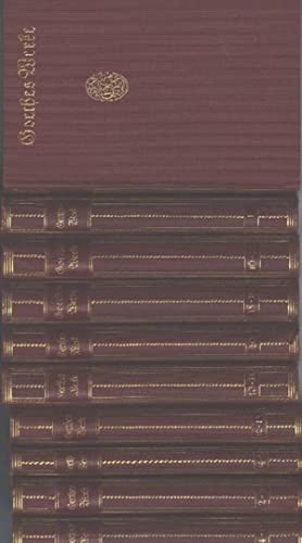 Goethes Werke: Auswahl in 20 Teilen in 10 Büchern herausgegeben von Eduard scheidemantel mit ...