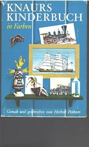 Knaurs Kinderbuch in Farbe ein Bilderlexikon gemalt und geschrieben von Sybill Gräfin Sch&ouml...