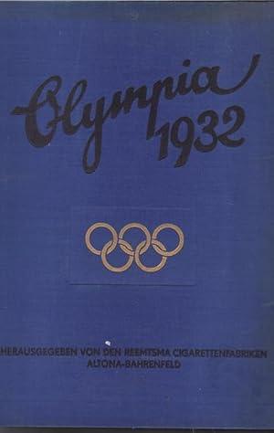 Die Olympischen Spiele in Los Angeles 1932 / Sammelbilderalbum komplett!/ diese Chronik ...