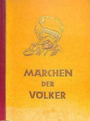 Märchen der Völker- Zigarettensammelbilderband IV (vollständig): Altona-Bahrenfeld ...