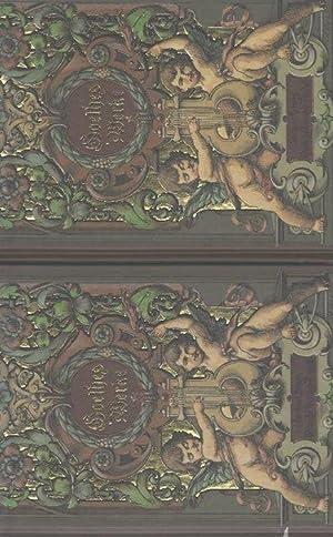 Goethes Werke in fünf Bänden mit hochwertigen künstlerischen Illustrationen (...