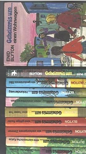 Geheimnis-Serie der 6 Spürnasen von Enid Blyton 8 in sich abgeschlossene Bände unvollst&...