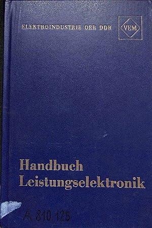 VEM-Handbuch Leistungselektronik mit 392 Bildern, 32 Tabellen, 52 ...