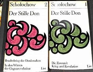 Der stille Don ein Roman nach der Zarenzeit und Neuanfang im Rußland von Michail Scholochow ...