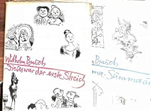 Wilhelm Busch Werke Summa Summarum-Dieses war der: Busch, Wilhelm und
