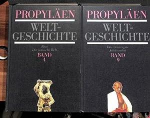 Propyläen-Weltgeschichte eine Universalgeschichte herausgegeben von Golo Mann und Alfred Heuss...