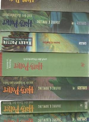 Harry Potter 7 Bände Harry Potter und der Stein der Weisen,und die Kammer des Schreckens und ...