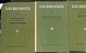 Refa-Buch Band 1. Arbeitsgestaltung einer einer Einführung in das Arbeitsstudium mit 146 ...