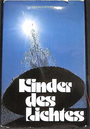 Kinder des Lichtes aus der Jugend grosser Heiliger von Wilhelm Hünermann mit Illustrationen ...