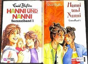 22x HANNI UND NANNI Bände 1-22 komplett in 7 Büchern von Enid Blyton mit Illustrationen ...