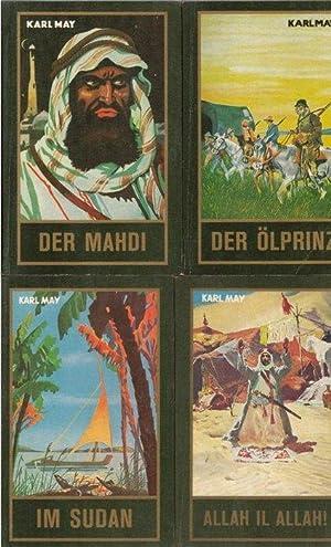 36 Bände Gesammelte Werke,Durch die Wüste Durchs: May, Karl