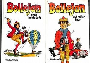 Bollejan Abenteuer des erfolgreichen und lustigen Hobbydetektiv Baron Bollejan alle 8 bücher ...