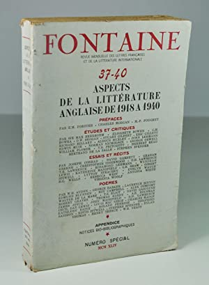 Revue) Fontaine 37 - 40 - Aspects: Collectif) E. M.