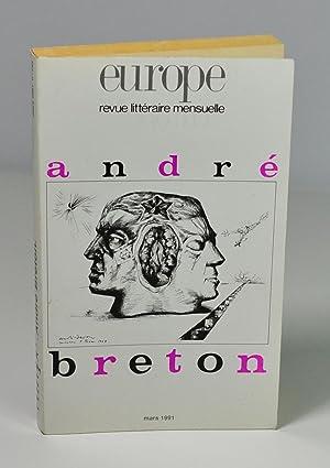 Revue) Europe n° 743/ Mars 1991 spécial: Collectif) André Breton
