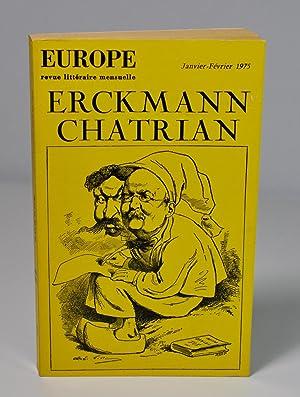 Revue) Europe, n° 549-550, janvier-février 1975 spécial: Collectif) Pierre Gamarra