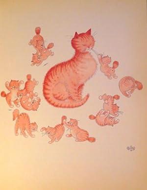 Entre chats. Illustrations de DUBOUT.: DUBOUT - MERY,