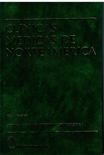 Actualización en Otorrinolaringologia I (1). Clínicas Médicas de Norteamérica. Volumen 1991/6 - Varios autores