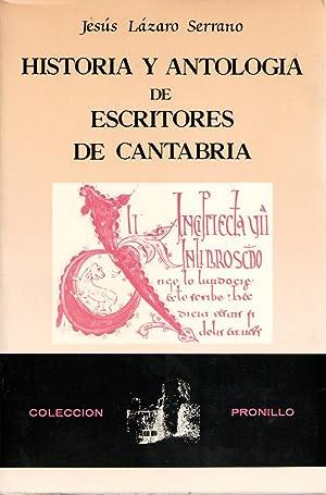 Historia y antología de escritores de Cantabria: Jesús Lázaro Serrano