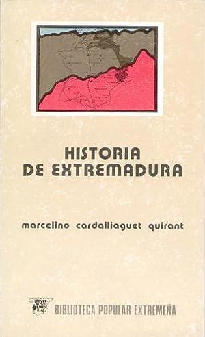 Historia de extremadura: Marcelino Cardalliaguet Quirant