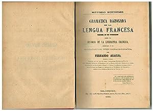 Gramática razonada de la lengua francesa, precedida: Fernando Araujo