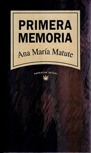 Primera memoria: Ana María Matute