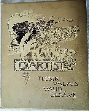 Vacances d'artistes - Tessin, Valais, Vaud, Genève: Daniel Baud-Bovy