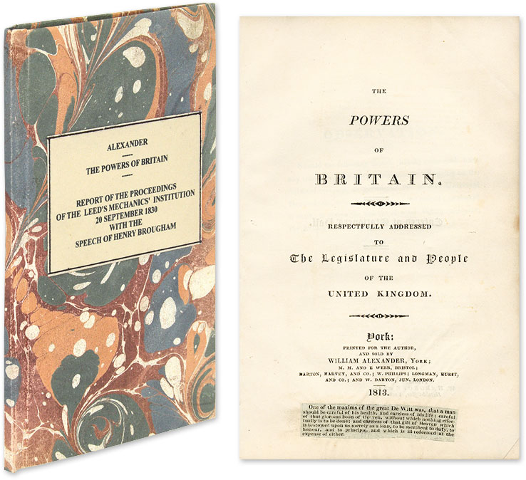 The Powers of Britain, Respectfully Addressed to: Alexander, William