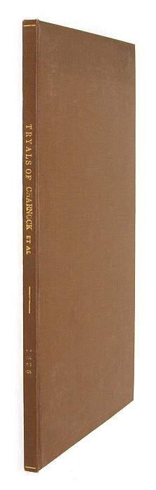 The Tryals and Condemnation of Robert Charnock.High-Treason.: Trial; Charnock, Robert, Primary ...