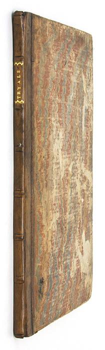 The Tryal and Condemnation of Arundel Coke Alias Cooke [Bound with].: Trials; Coke, Arundel; ...