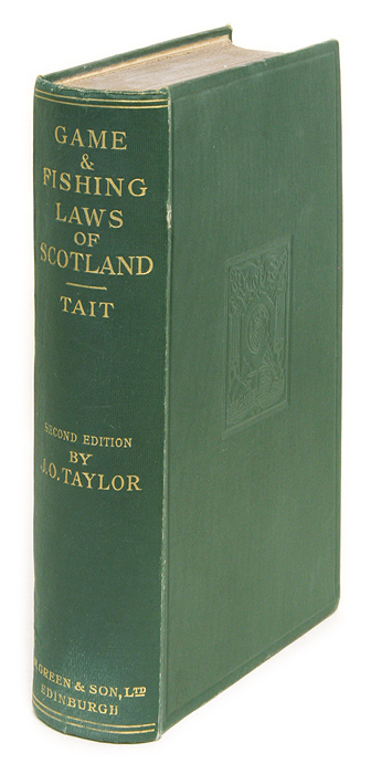 A Treatise on the Law of Scotland as Applied to the Game Laws.