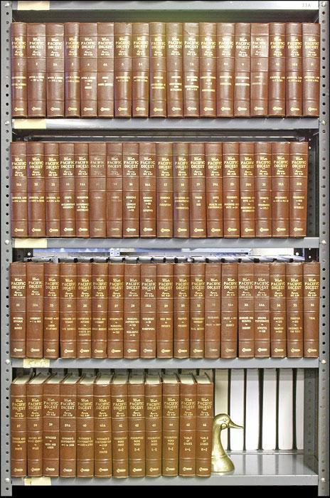 Pacific Digest, West's P.2d 1941-1962. 101-366 P2d Vols 1-46 in 67 bks: Thomson West