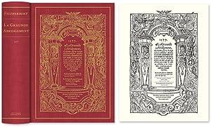 La Graunde Abridgement, Collecte par le Iudge: Fitzherbert, Anthony; David