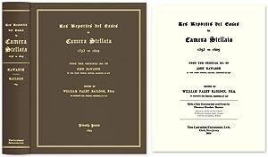 Les Reportes del Cases in Camera Stellata, 1593 to 1609 from the.: Hawarde, John; W. Paley Baildon ...