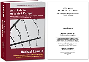 Axis Rule in Occupied Europe, 2nd Ed.: Lemkin, Raphael; Samatha