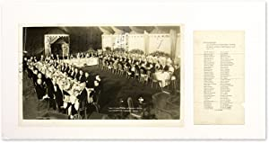 "12"" x 20"" Photograph of Darrow at Banquet Honoring Steffens [with].: Darrow, Clarence; ..."