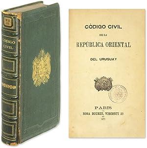 Codigo Civil de la Republica Oriental del Uruguay, 2nd ed: Uruguay