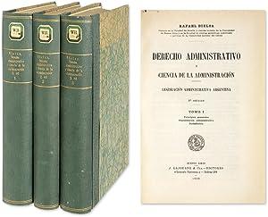 Derecho Administrativo y Ciencia de la Administracion Legislacion.: Bielsa, Rafael