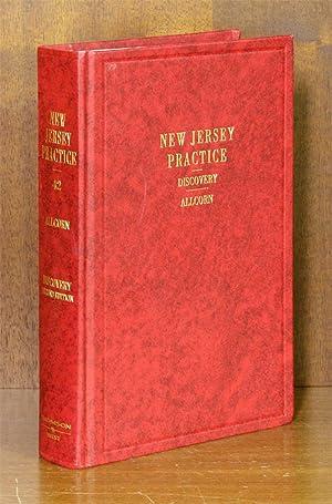 Discovery, 2d ed. (New Jersey Practice Vol. 42) w/2015-16 supplement: Allcorn, Robert S.
