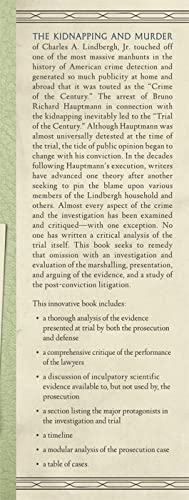 The Lindbergh Kidnapping Case: A Critical Analysis of the Trial of.: Dedman, James M., III and ...