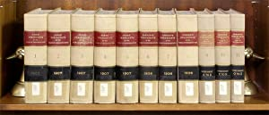 Hind's & Cannon's Precedents of the House of Representatives. 11 Vols: Hinds, Asher C...