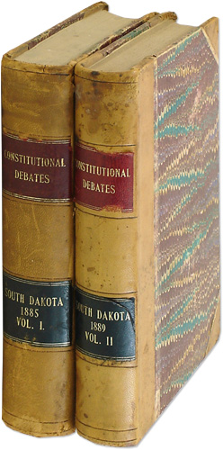 Dakota Constitutional Convention. [With] South Dakota Constitutional.: South Dakota