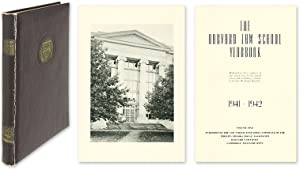 Harvard Law School Year Book [Yearbook]. Vol. 5. Cambridge, 1941-1942: Harvard Law School