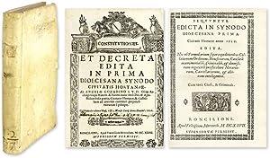Constitutiones et Decreta Edita in Prima Dioecesana Synodo Civitatis: Orte, Italy; Gozzadini, ...