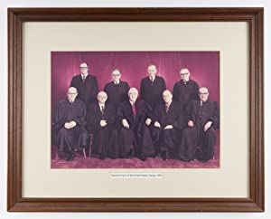 Group Portrait of the Supreme Court, Spring 1976: Supreme Court, United States